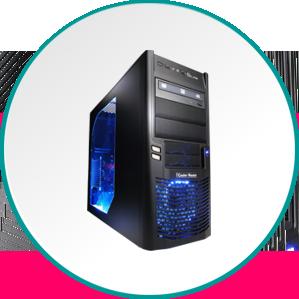 Namizni računalniki. Od najcenejših do najzmogljivejših. HP, ASUS, PCX, Razer.