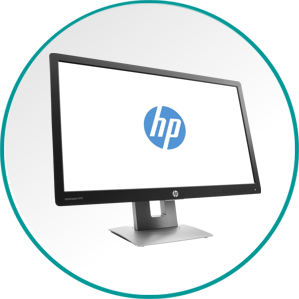 Računalniški zasloni in televizije. HP, Asus, LG, Panasonic, Samsung.